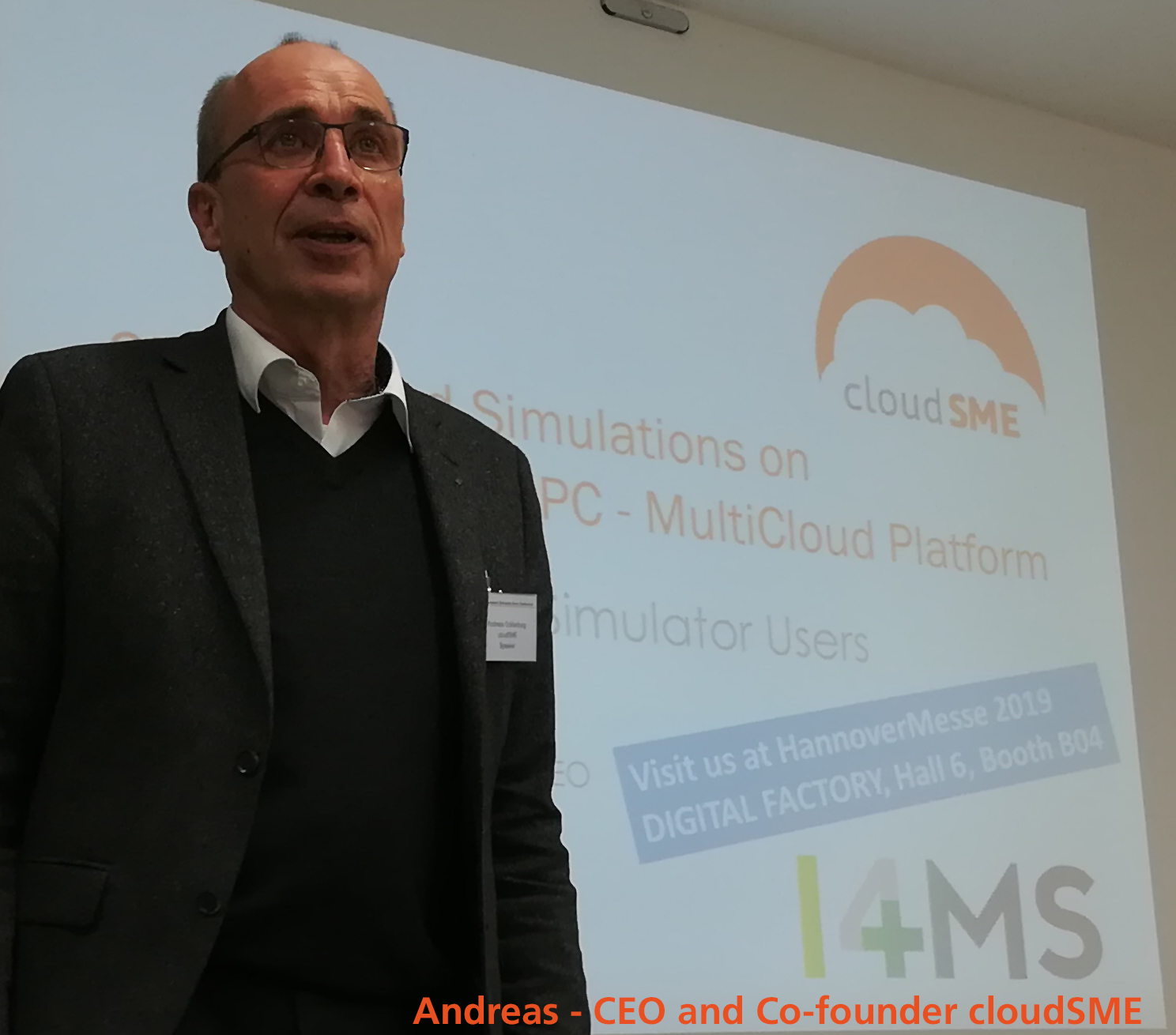 Andreas, CEO & Co-founder cloudSME