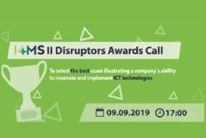 I4MS II Disruptors Awards