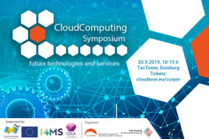 Cloud Computing Symposium – get ready for the cloud!